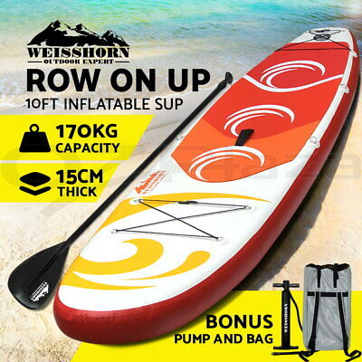 Aqua Marina Stand Up Paddle Board SUP Breeze Inflatable Paddleboard Surf Board