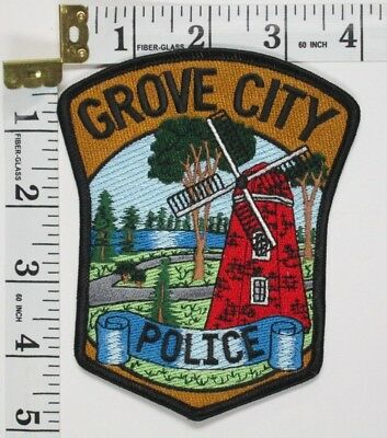 Grove City Minnesota Police Department  Shoulder  Patch