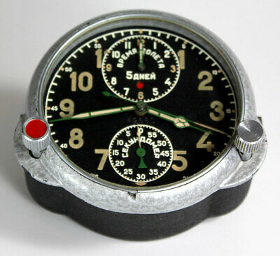 Chronoflite 330 CCCP KIROWA 50s PRÄZISION CHRONOGRAPH 5day Elapsed time clock