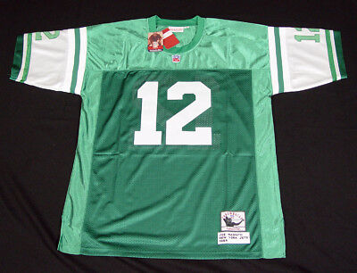 ... discount code for joe namath 12 new york jets 1968 mitchell ness  throwbacks jersey stitched nwt 608e59149