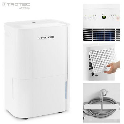 TROTEC TTK 54 E Portable Air Dehumidifier, Dehumidifying max. 16 L/Day