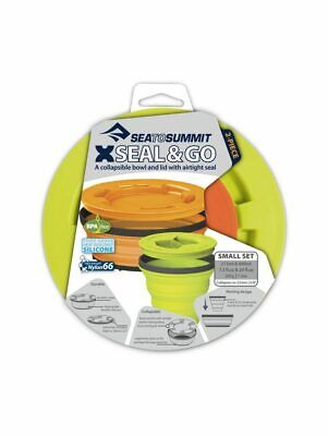 Sea To Summit X-Seal & Go Collapsible Food Containers Set - Lime - SM