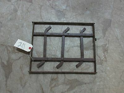 Antique Victorian Iron Gate Window Panel Fence Architectural Salvage Door #211