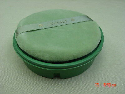 Vintage Avon Regence Beauty Dust 6 oz Original Puff Powder Refill Plastic Sealed