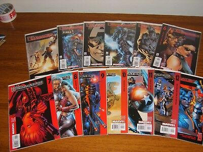 The Ultimates #1 - 13 Set (Marvel) 13 Issues (1St Series 2002)