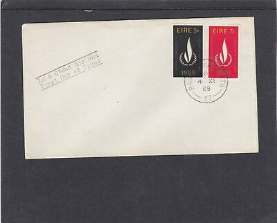 Ireland 1968 International Year of Human Rights First Day Cover FDC