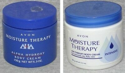 # Avon Moisture Therapy Body Cream Intensive Aha Alpha Hydroxy ~ You Choose!