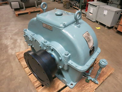 REBUILT Lufkin D195C 150HP 9.5:1 Ratio 1750RPM Enclosed Gear Drive Speed Reducer