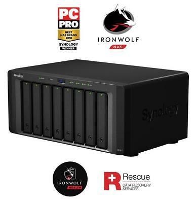 Synology DiskStation DS1817-48TB-IW Pro powerful 8-bay 48TB(8x6TB Seagate