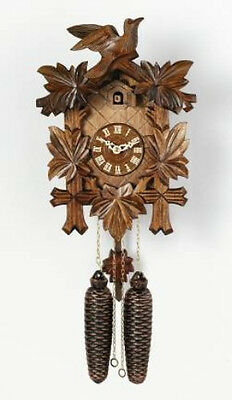 "NEW Genuine Black Forest 8-Day Cuckoo Clock 13"" Eight Day  811-13 -  GREAT GIFT!"