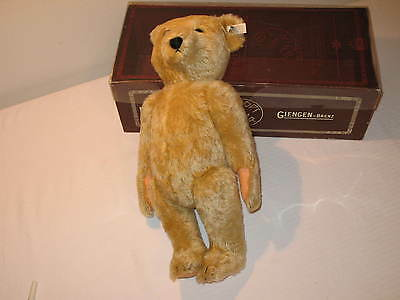 "vintage Margarete STEIFF 16"" teddy bear A.M Edition no. 2191 in the matching box"