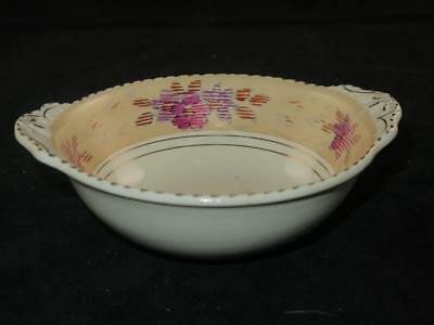 Replacement China Burleigh Ware DESSERT or CEREAL BOWL Tudor Pattern 1930s