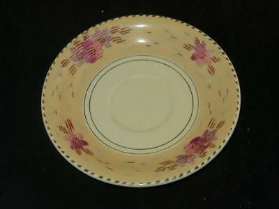 Vintage Replacement China Burleigh Ware SAUCER for TEA CUP Tudor Pattern 1930s