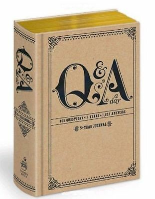 Q&A a Day: 5-Year Journal by Potter Style - How did you? -  Sent worldwide :)