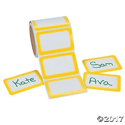 bee name tags roll of 100 bug stickers adhesive labels birthday