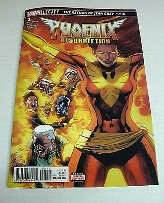 Phoenix Resurrection #1 3D Lenticular Return Of Jean Grey Variant Marvel Legacy