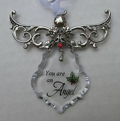 g You are an angel guardian angel BLESSINGS CHRISTMAS ORNAMENT ganz
