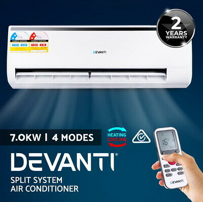 Devanti 5.0KW Split System Air Conditioner Reverse Cycle Inverter Cooler/ Heater