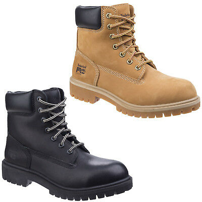 Timberland Pro Direct Attach Safety Boots Womens Leather Steel Toe Cap Work Shoe