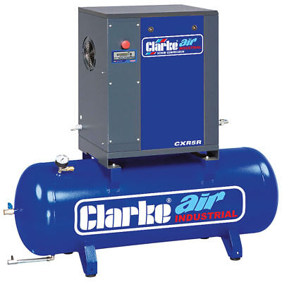 Clarke CXR5 5.5HP Industrial Screw Compressor  (Ref: 2456550)