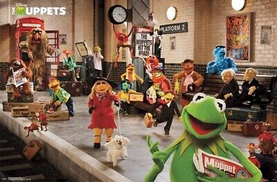 Maxi Poster 61cm x 91.5cm The Muppets Movie new /& sealed Premier
