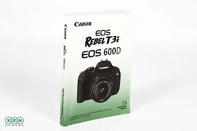 Canon EOS Rebel T3i / 600D Instruction Manual