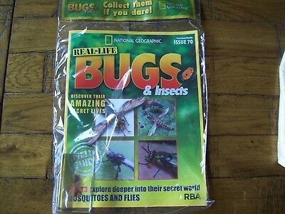 National Geographic Real-life Bugs & Insects magazine Issue 70