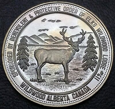 1985 Wildwood Alberta Good For $2 Trade Token Dollar, Canada **Junkins School**