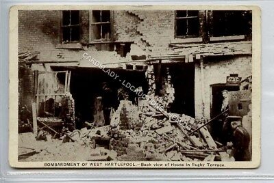 (Ld6041-183) Bombardment of West Hartlepool, Rugby Terrace,  Unused G