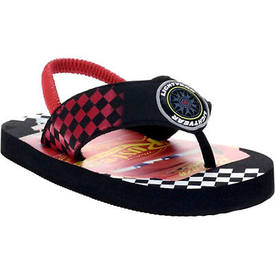 NEW Toddler Boys Disney Cars Flip Flops Sandals Large 9-10