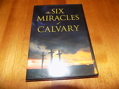 THE SIX MIRACLES OF CALVARY Bible Biblical Study Day of Discovery DVD NEW