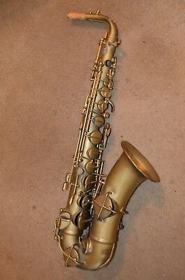 Supertone Bandmaster Saxophone Jazz Art For Fix Parts BUY AS-IS 1936 VTG 30s 40s