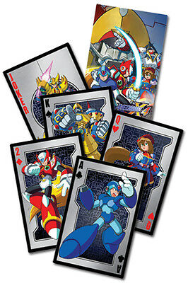 Mega Man X4 Official Genuine Playing Cards *NEW*