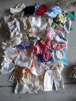 Big Lot of Vintage Larger Doll Clothing with Handmade Pieces #2 Look