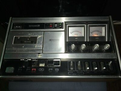 Wollensak 3M 4765  Dolby Cassette Deck As Is
