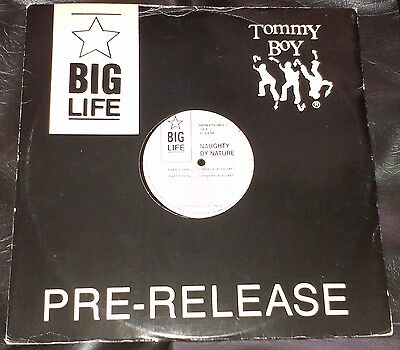 "Naughty By Nature ‎– Everything's Gonna Be Alright 12"" vinyl Big Life Hip Hop"