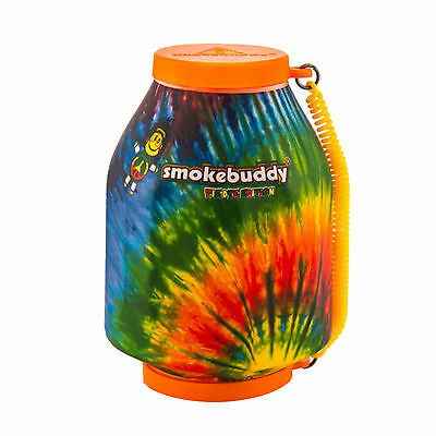 Smoke Buddy Personal Air Purifier Cleaner Filter Removes Odor - Tie Dye Orange