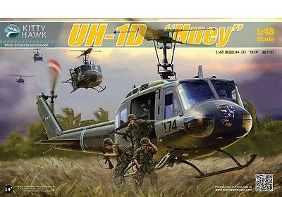 Kitty Hawk  1/48 UH-1D Huey Helicopter #80154 *New release*