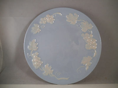 """Vintage RARE Stangl White Grape 8 1/4"""" Salad Lunch Plate Molded"""