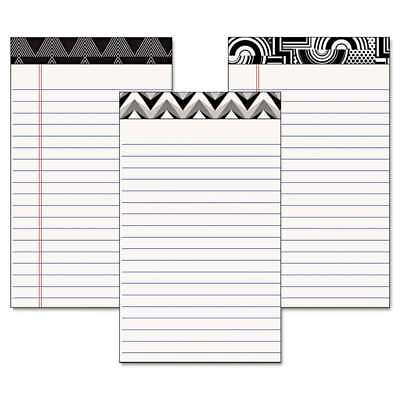 TOPS Fashion Legal Pads with Assorted Headtapes, 5 x 8, 50 Sheet 025932304958