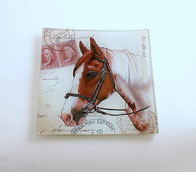Horse Plate Pony Express