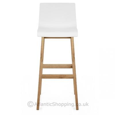 Awesome Drift Oak Kitchen Breakfast Bar Stool Stylish Minimalist Bralicious Painted Fabric Chair Ideas Braliciousco