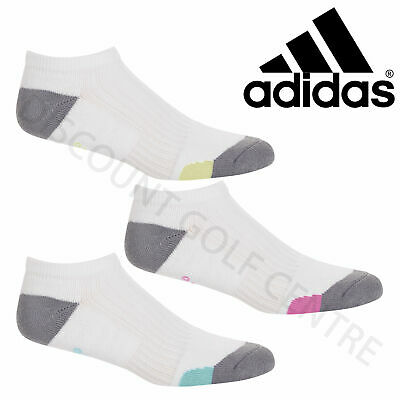 Adidas Ladies Comfort Low Sports Golf Socks **Various Colours**