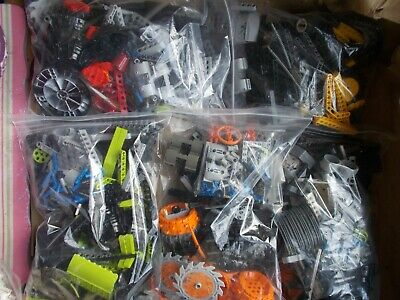 500g 1/2 Kg HALF KILO LEGO TECHNIC PACK RODS BEAMS ARMS PINS WHEELS GEARS COGS
