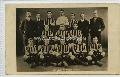 (Lc7488-100) RP, Condor 1st Eleven Football Team  1906/07  Unused G-VG