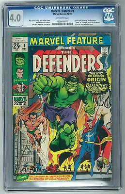 Marvel Feature #1 CGC 4.0 1st Appearance of The Defenders