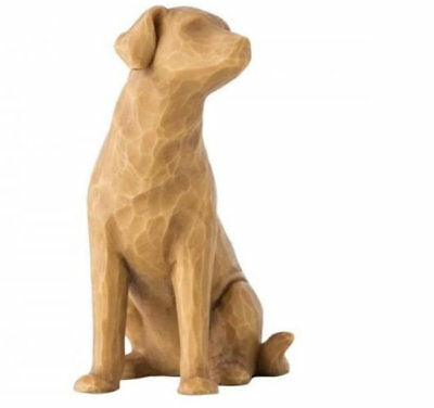 Willow Tree Love My Dog Figurine (Light) 27682 Pet in Branded Gift Box