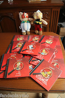 NEUF France Loisirs / BD COLLECTION COMPLETE 18 LIVRETS PERSONNAGES ASTERIX