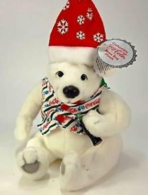 #0208 Coca-Cola Polar Bear In Vest Holding A Coke ~ New ~ Lot 1