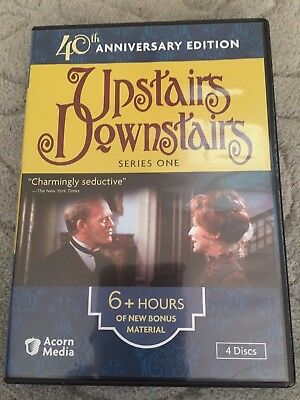 UPSTAIRS DOWNSTAIRS: SERIES ONE (1) (4 DVDs, 2011) 40th Anniversary AS NEW
